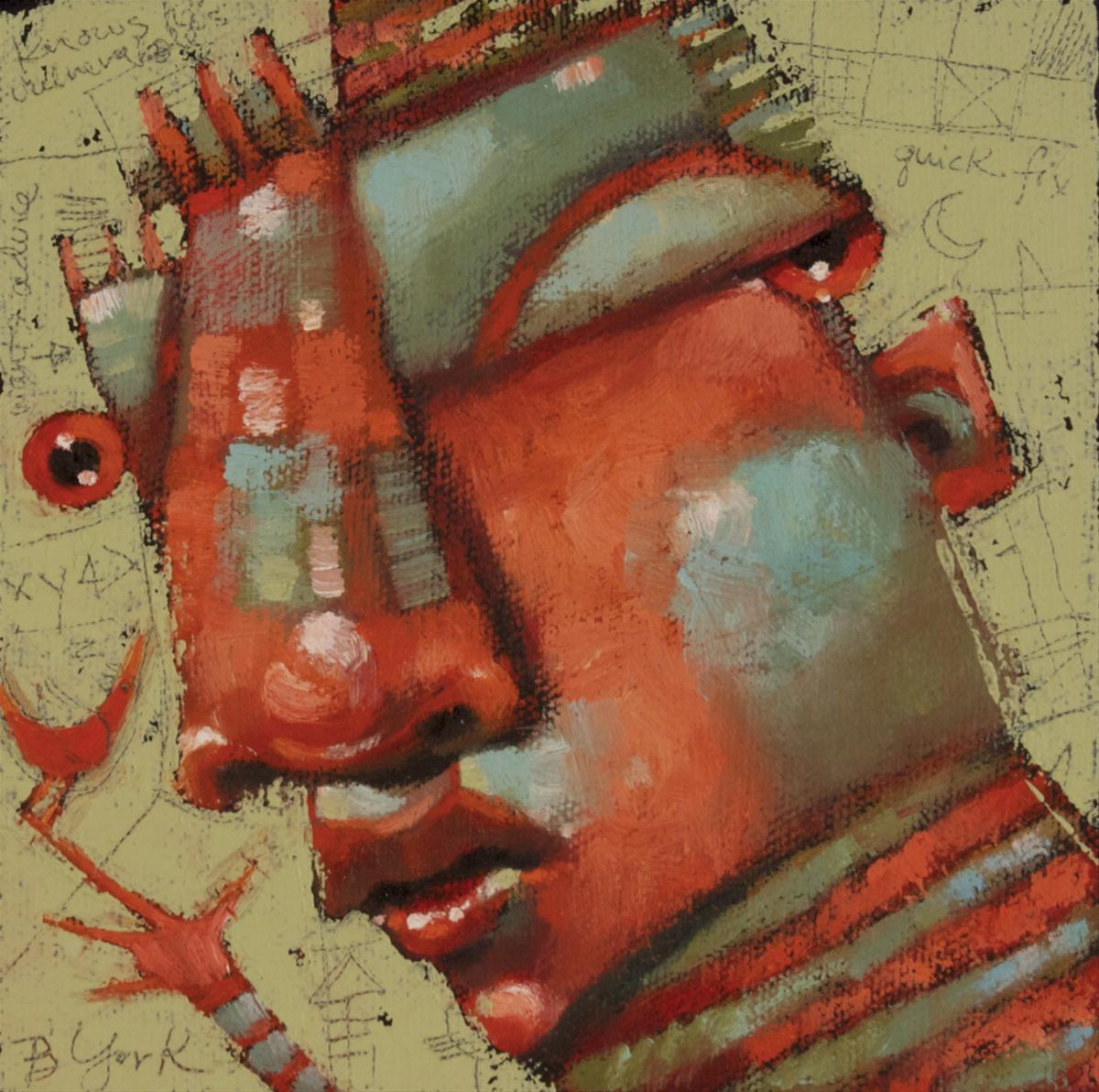 """Wing And A Prayer"" original fine art by Brenda York"
