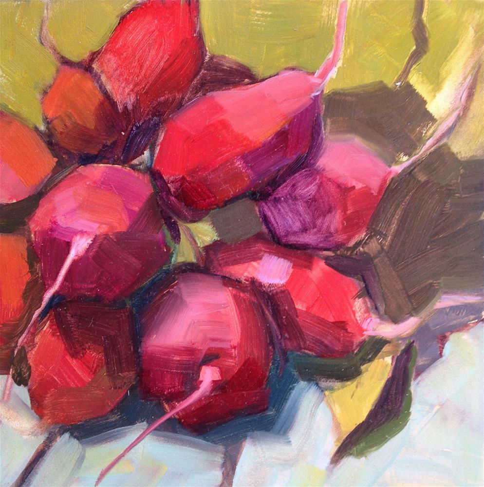 """Underground Roses"" original fine art by Pamela Hoffmeister"