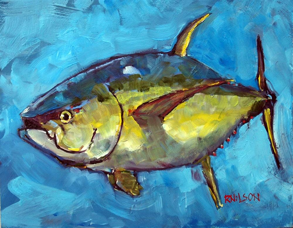 """Bigeye"" original fine art by Rick Nilson"