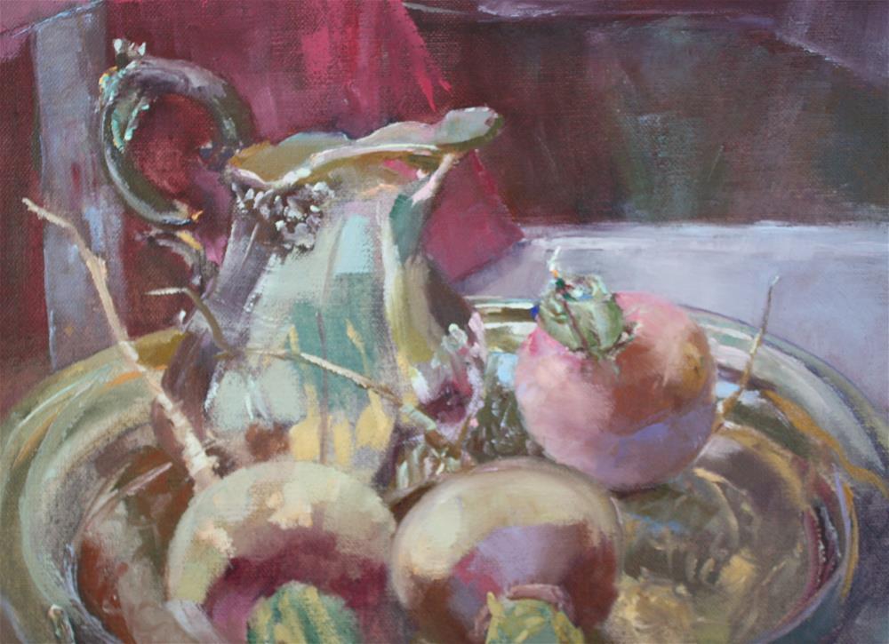 """""""Celebrate Five"""" original fine art by Pamela Sweet"""
