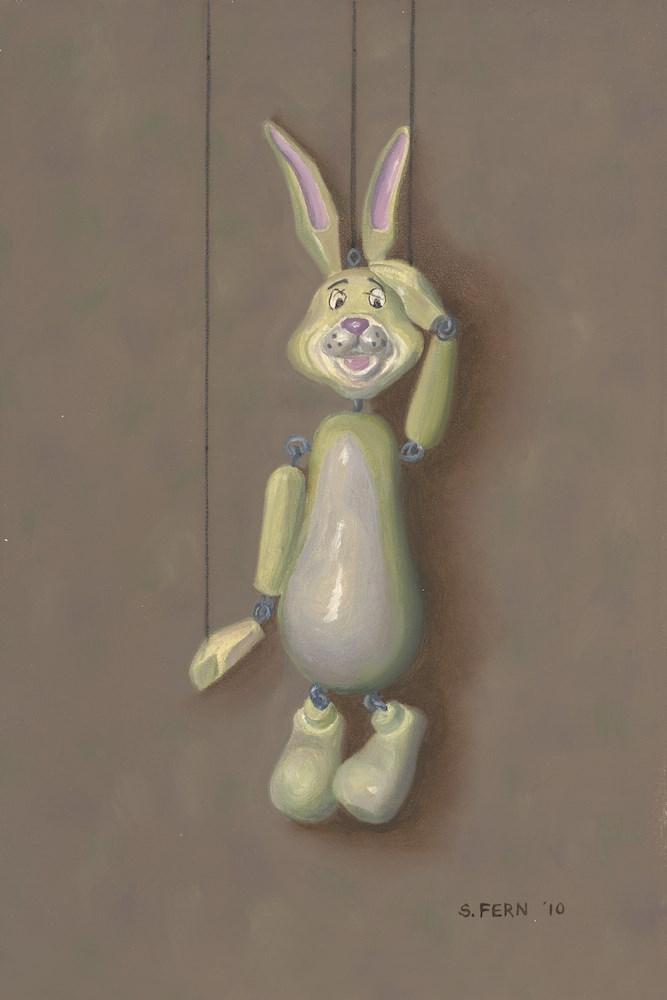"""""""Woe Is Me"""" original fine art by Susan Fern"""