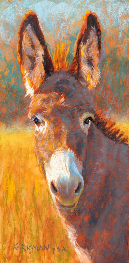 """Donna Keyola"" original fine art by Rita Kirkman"