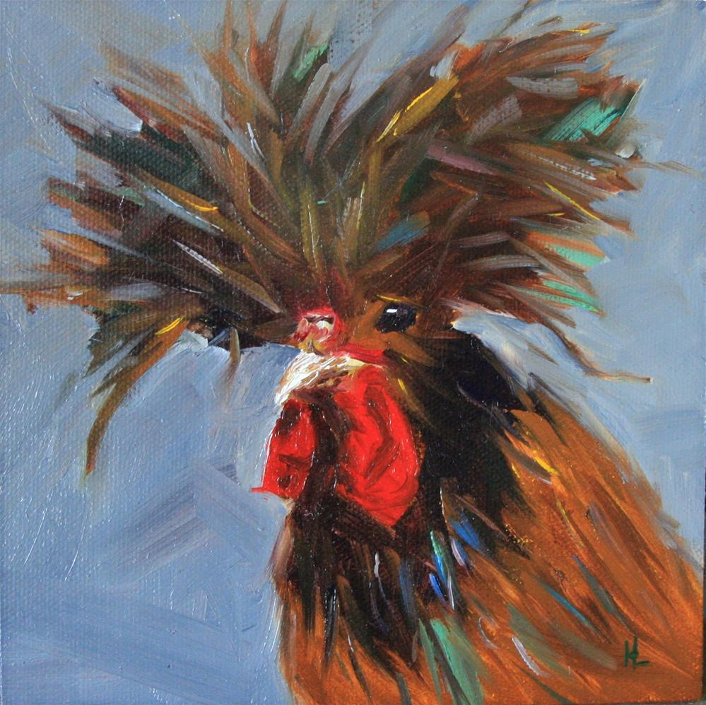 """Big Hair"" original fine art by Heather Lehmberg"
