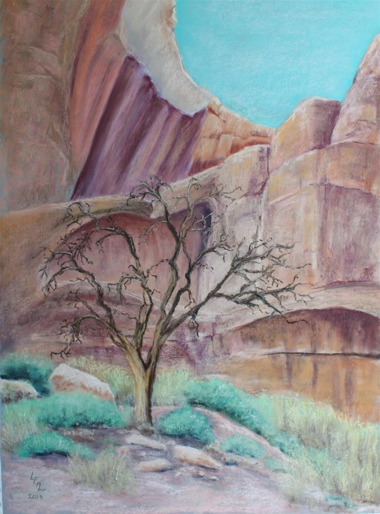 """Sentree"" original fine art by Anna Lisa Leal"