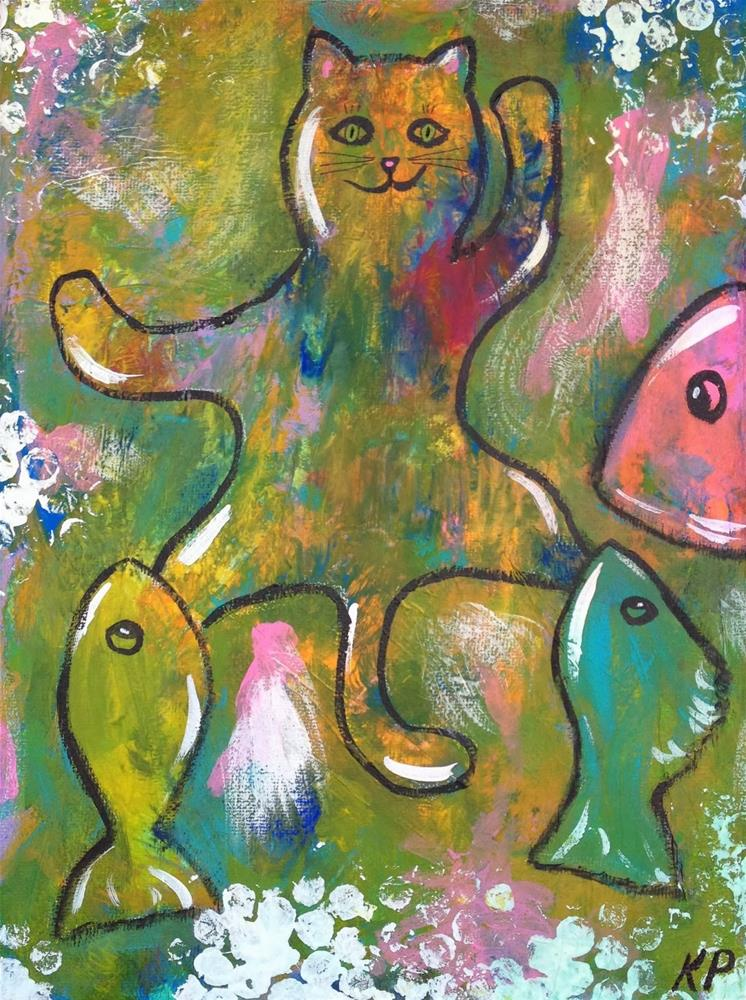 """Intuitive Spirit Totem Animals"" original fine art by Kali Parsons"