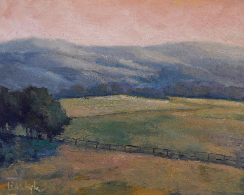 """Fields Near Antietam"" original fine art by Lisa Kyle"