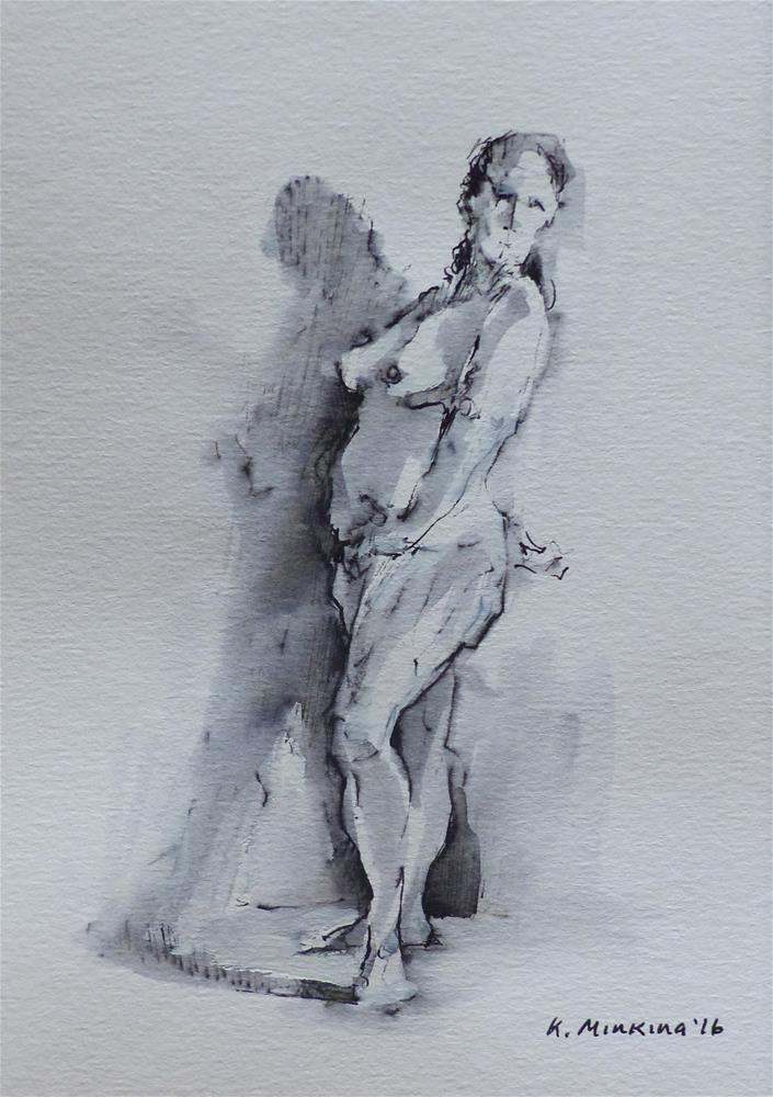"""sketchbook#19"" original fine art by Katya Minkina"