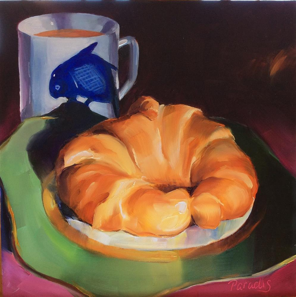 """Gina's Breakfast"" original fine art by Rita Paradis"