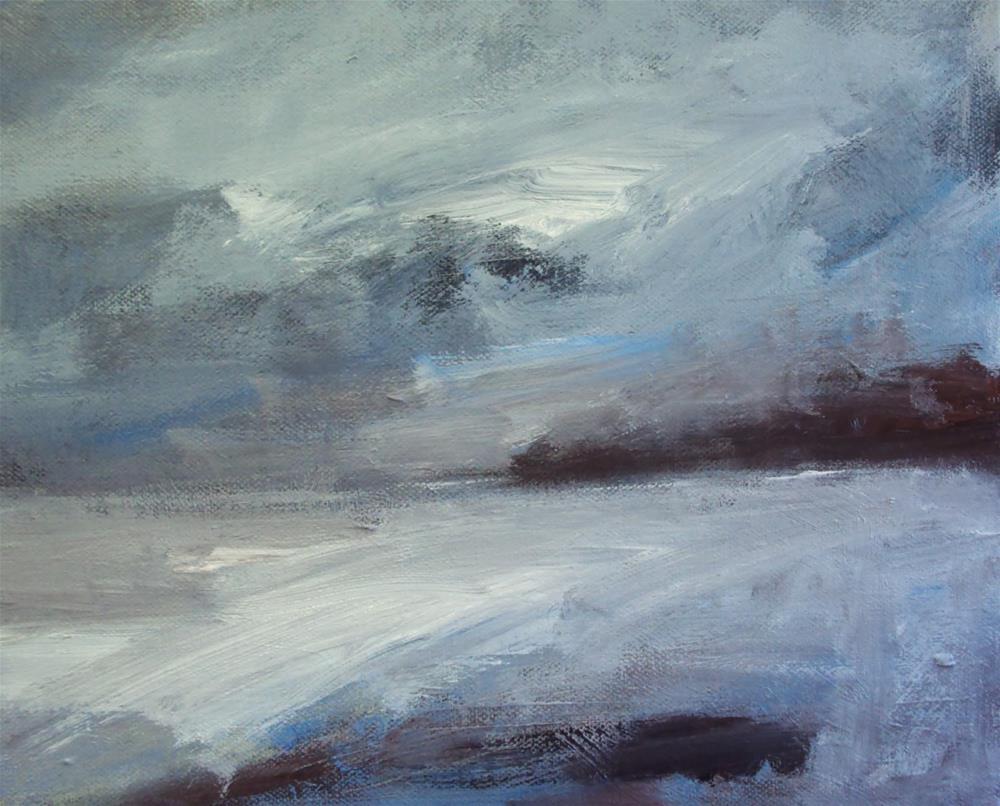 """frost"" original fine art by Parastoo Ganjei"
