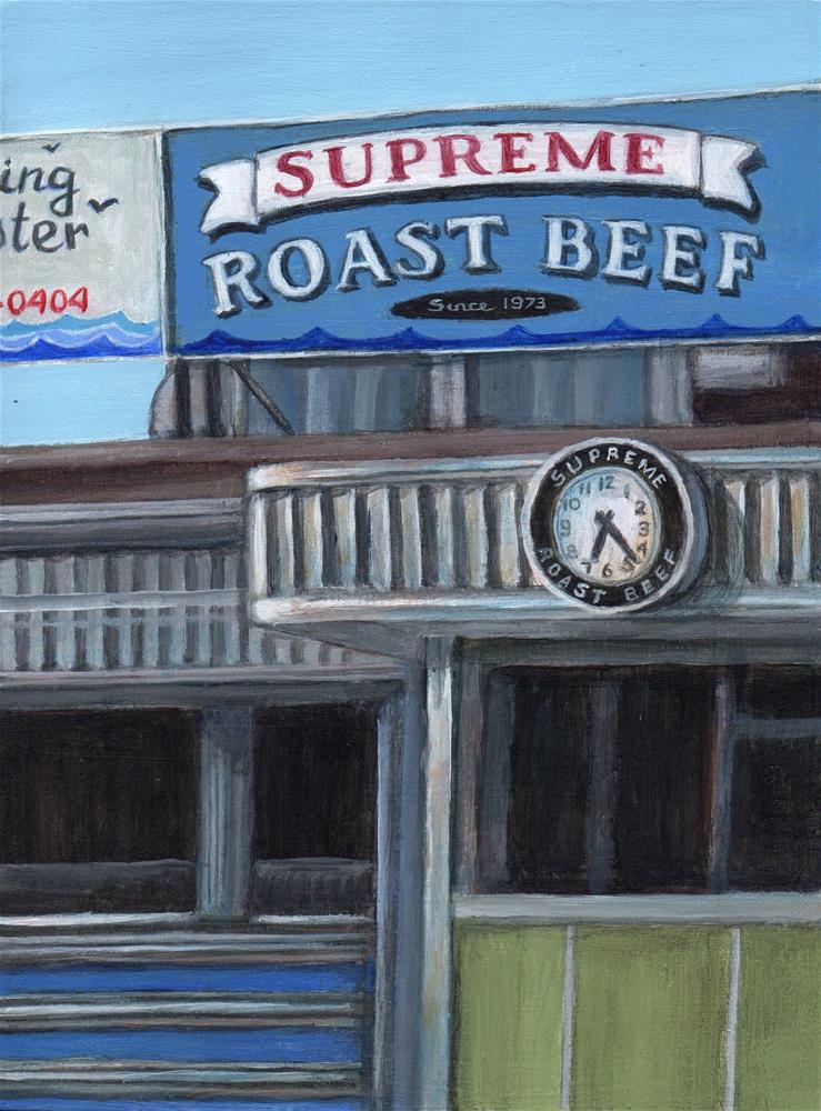 """Supreme"" original fine art by Debbie Shirley"
