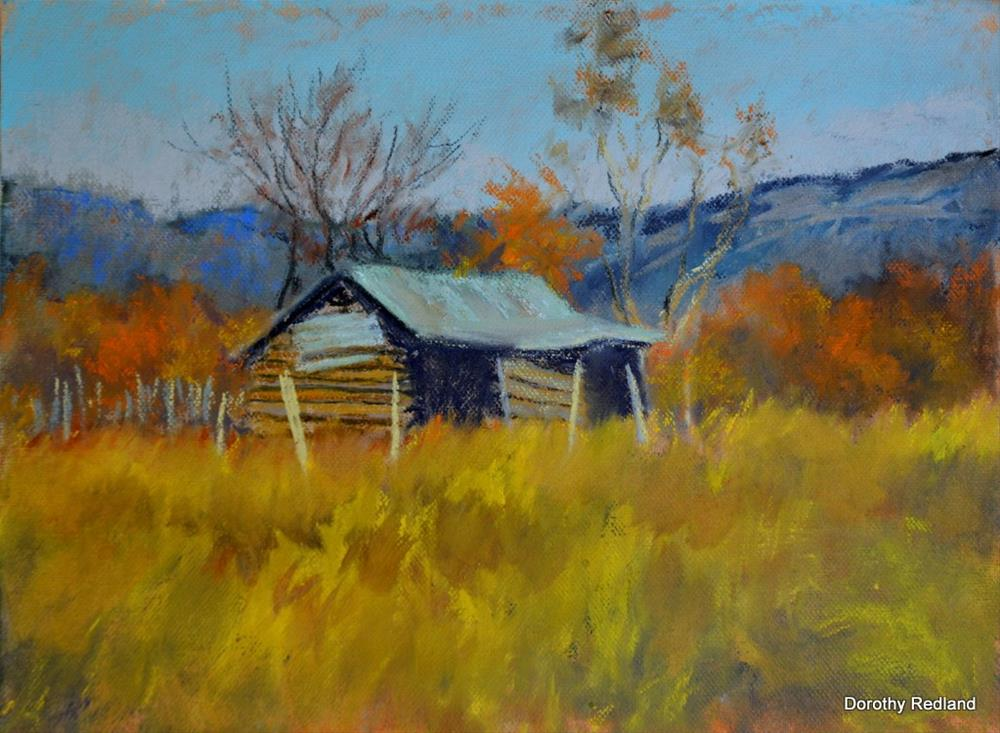 """Texas country place"" original fine art by Dorothy Redland"