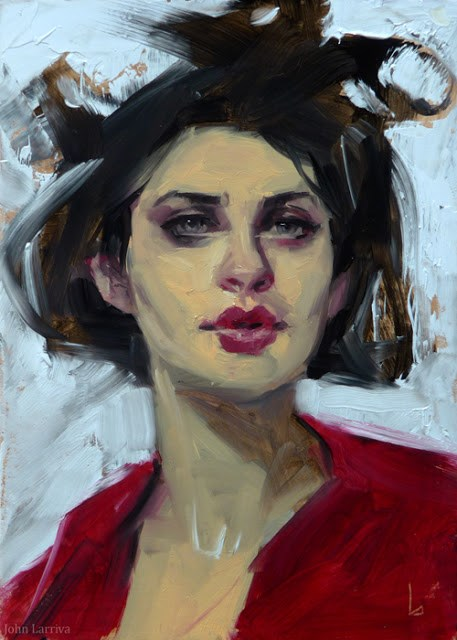 """Loopy"" original fine art by John Larriva"