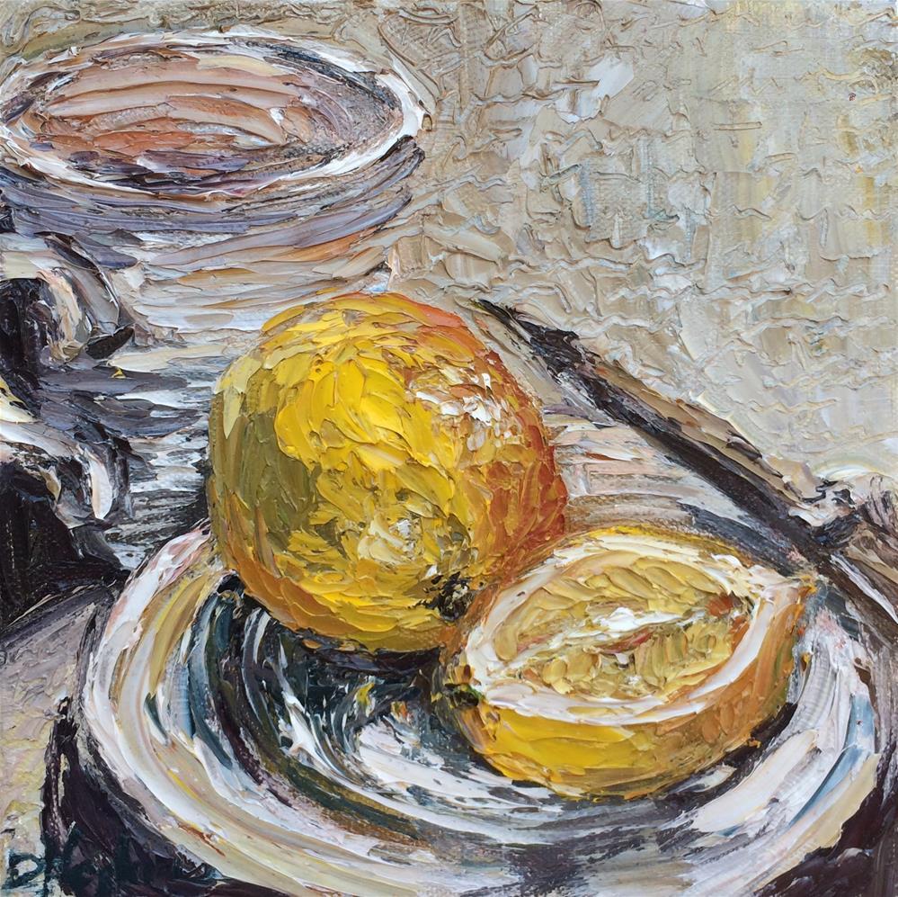 """When Life Gives Lemons..."" original fine art by Denise Hopkins"