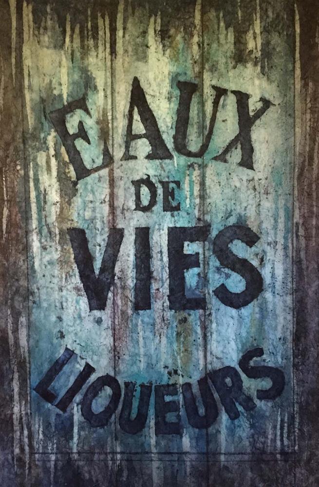 """""""Eaux de Vies"""" original fine art by Diane Fujimoto"""