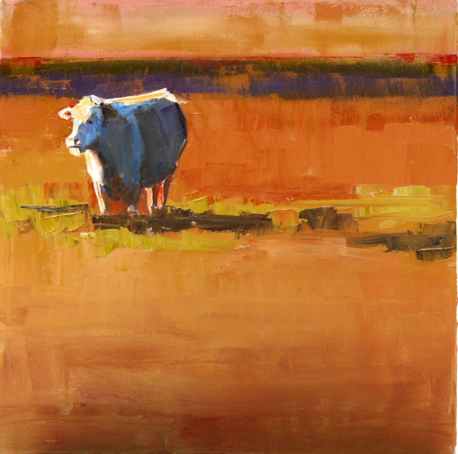 """okie from muskogee"" original fine art by Carol Carmichael"