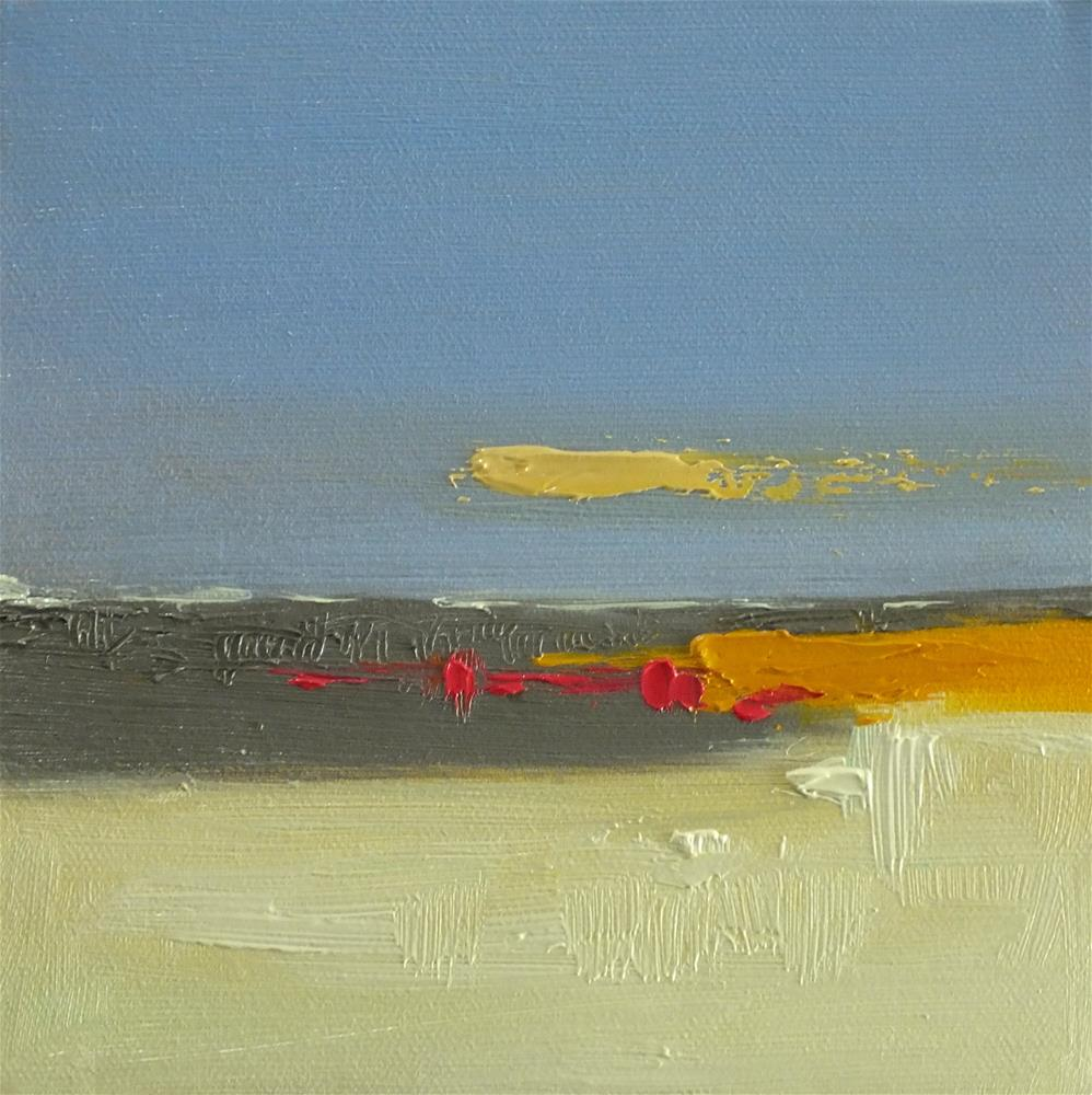 """Landscape 289"" original fine art by Ewa Kunicka"