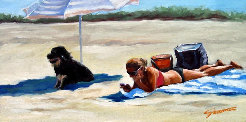 """The Smart One"" original fine art by Joanna Bingham"