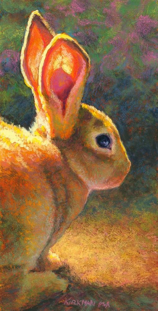 """""""A Good Listener"""" original fine art by Rita Kirkman"""