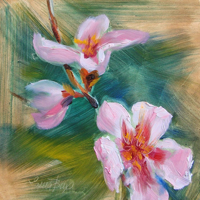 """One More for Mimi 215"" original fine art by Laura  Buxo"