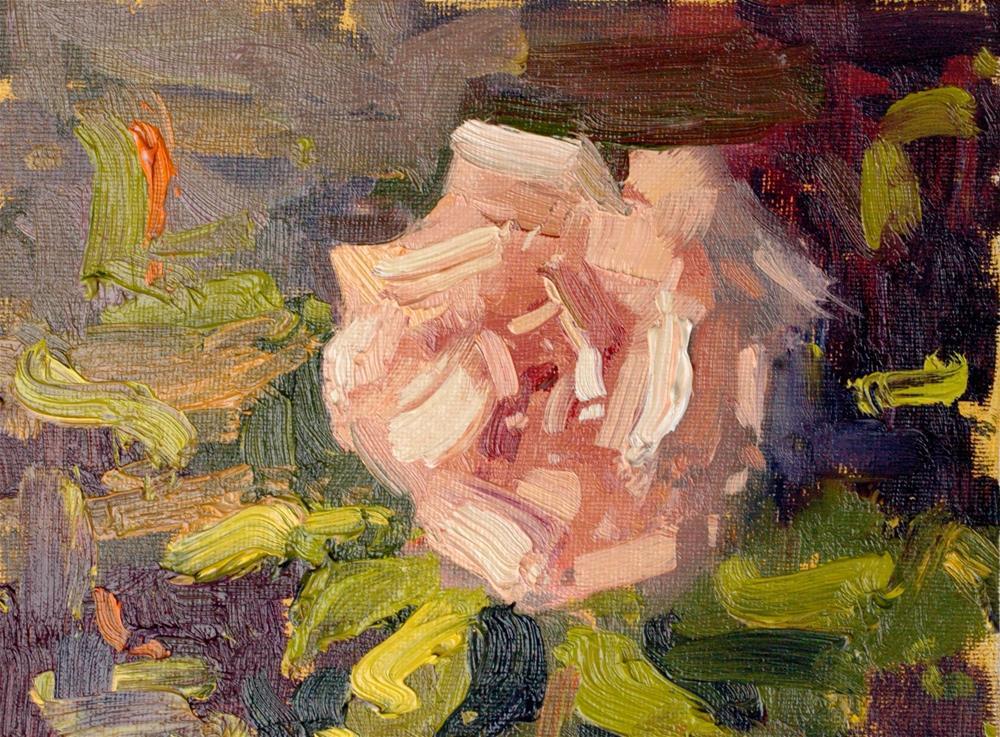 """Rose Study II"" original fine art by Michael Clark"
