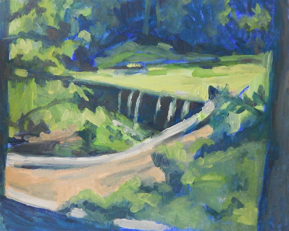 """Echo Lake"" original fine art by Megan Schembre"