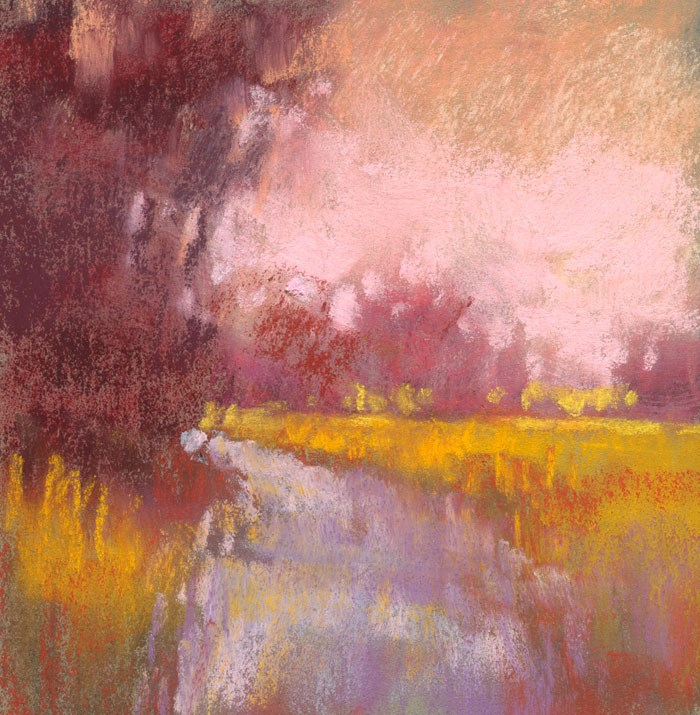 """Land Study 2"" original fine art by Rita Kirkman"