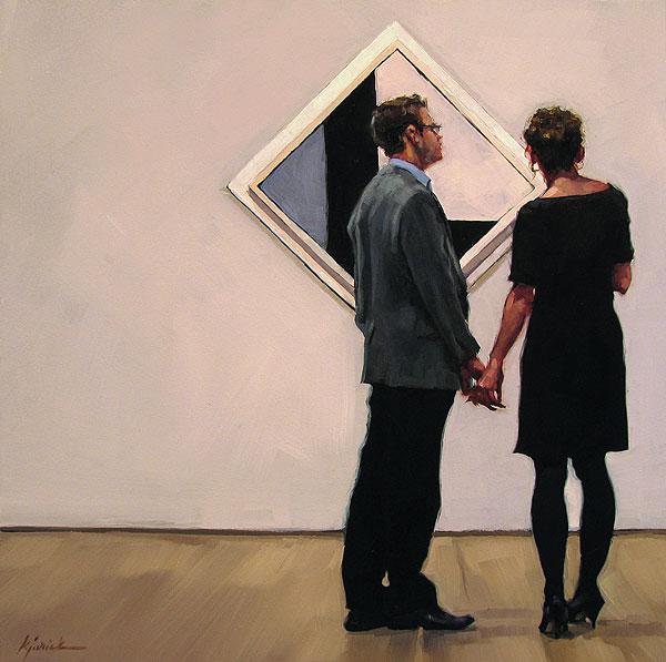 """Modern Love"" original fine art by Karin Jurick"