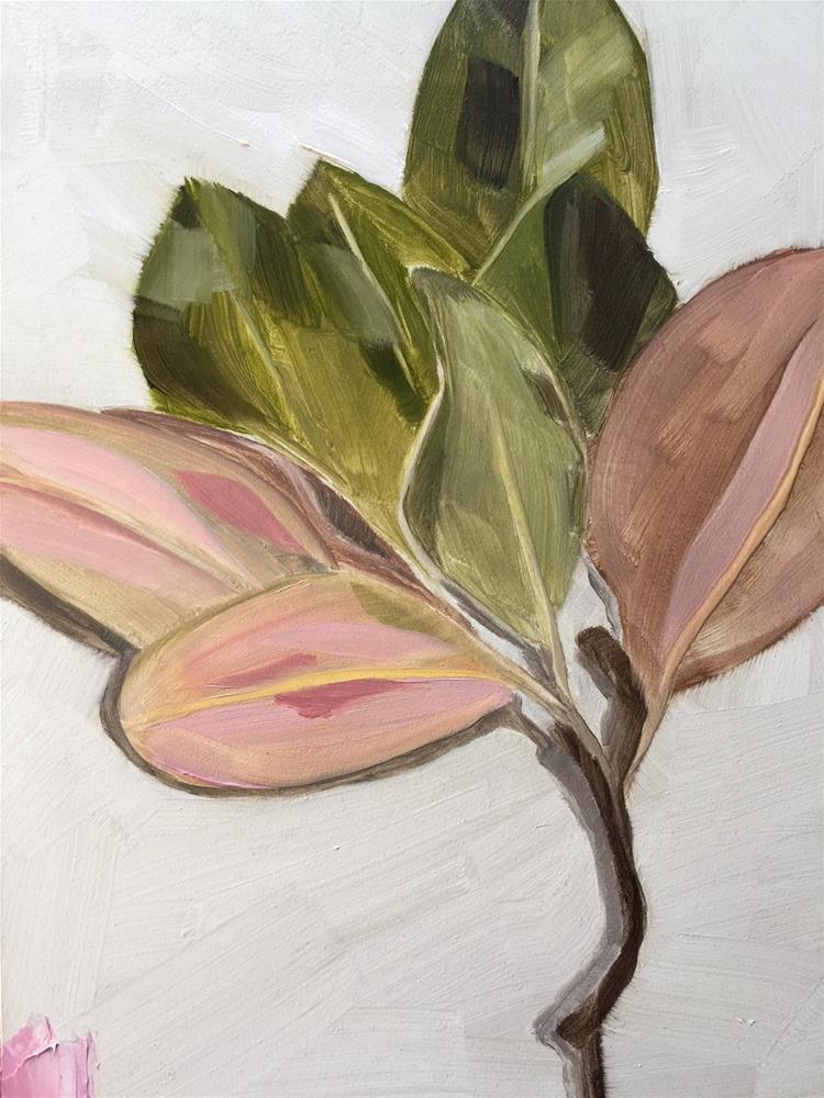 """151 Magical Magnolia"" original fine art by Jenny Doh"
