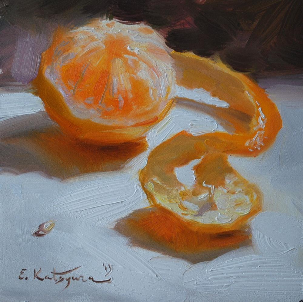 """Out of Its Shell"" original fine art by Elena Katsyura"