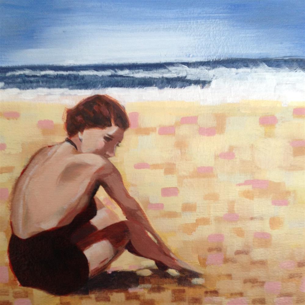 """""""Solitude"""" original fine art by Bev Thibault"""