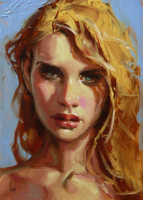 """Sunshine"" original fine art by John Larriva"