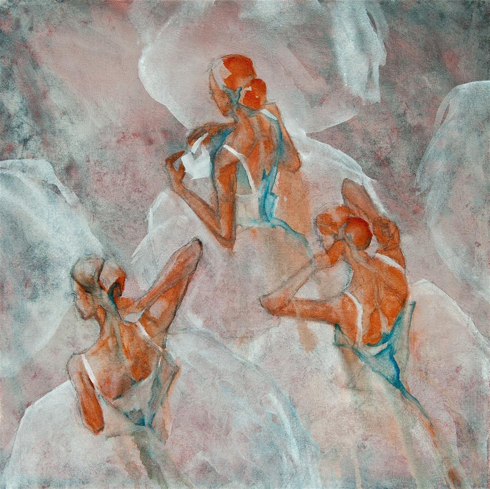 """Dress Rehearsal"" original fine art by Jani Freimann"