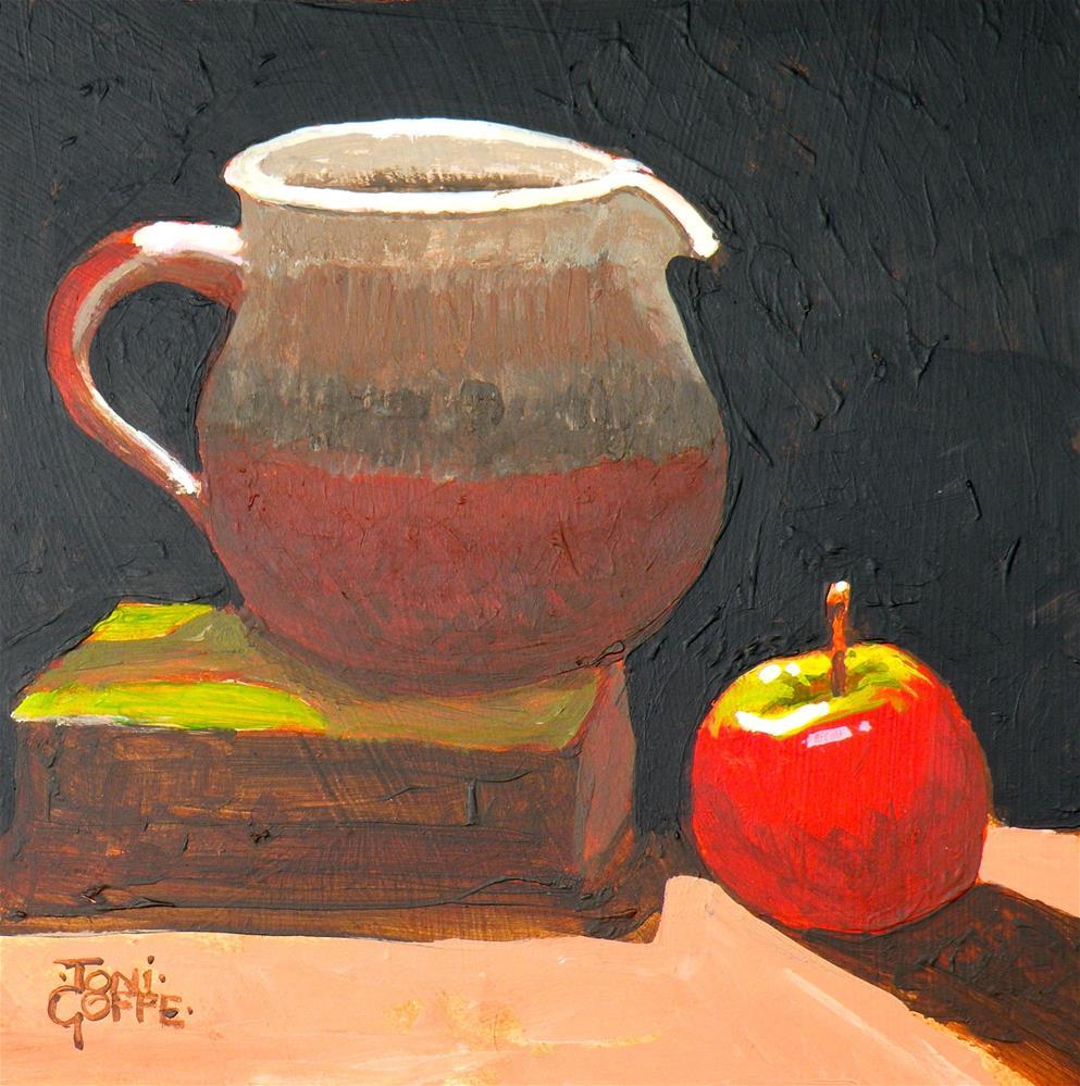 """""""Spotlit Jug"""" original fine art by Toni Goffe"""