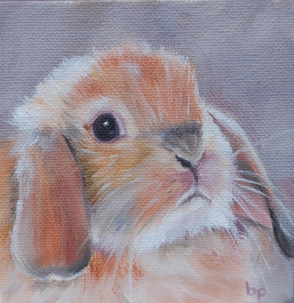 """""""Bunny"""" original fine art by Beverley Phillips"""