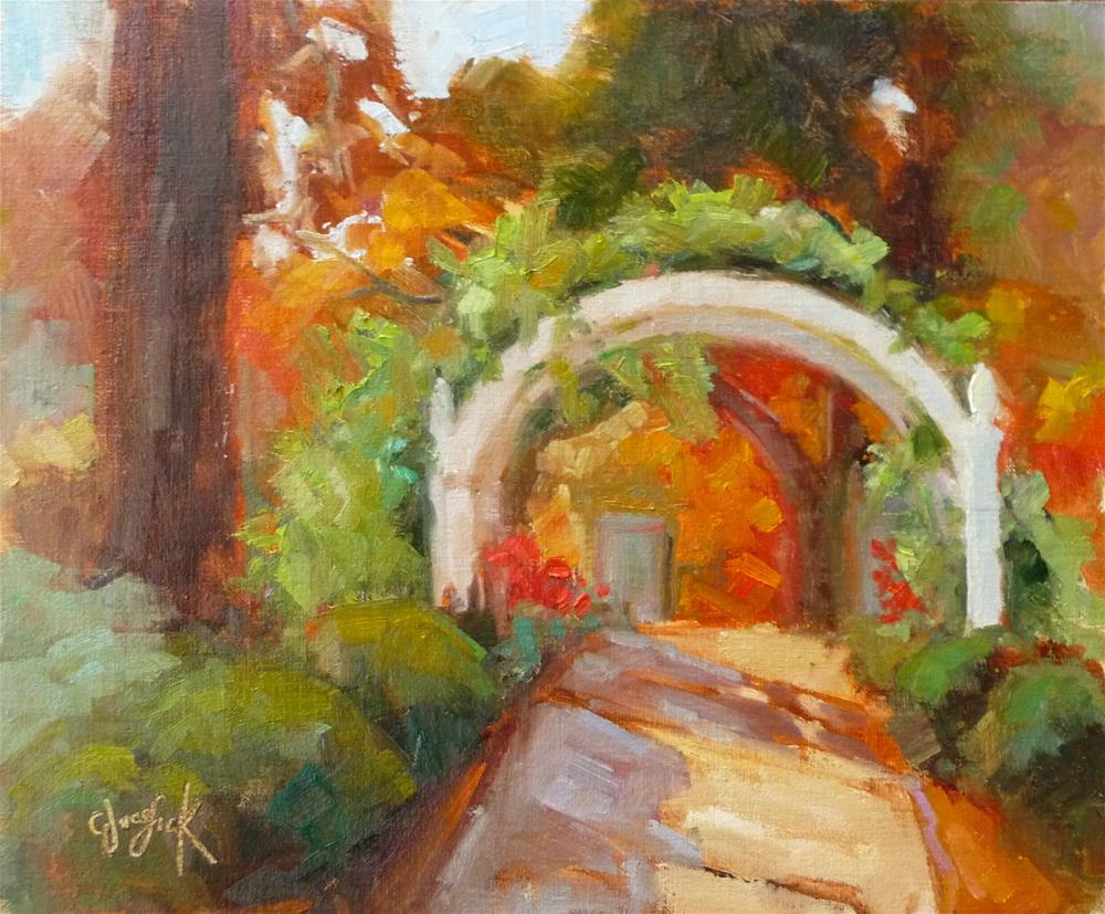 """Fall Day at Belmont"" original fine art by Carol Josefiak"