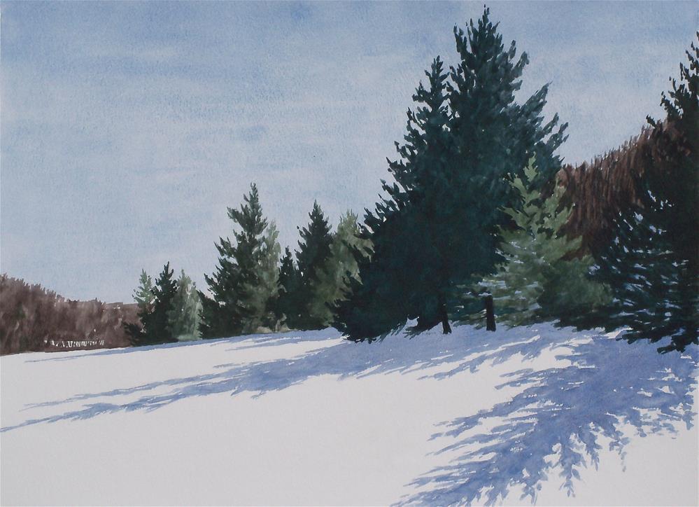 """Pines & Hemlocks"" original fine art by Greg Arens"