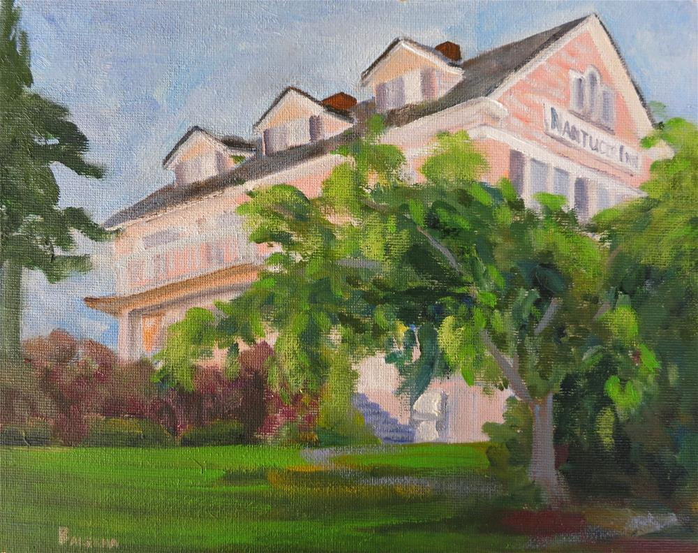 """The Nuntucket Inn"" original fine art by Elena Balekha"