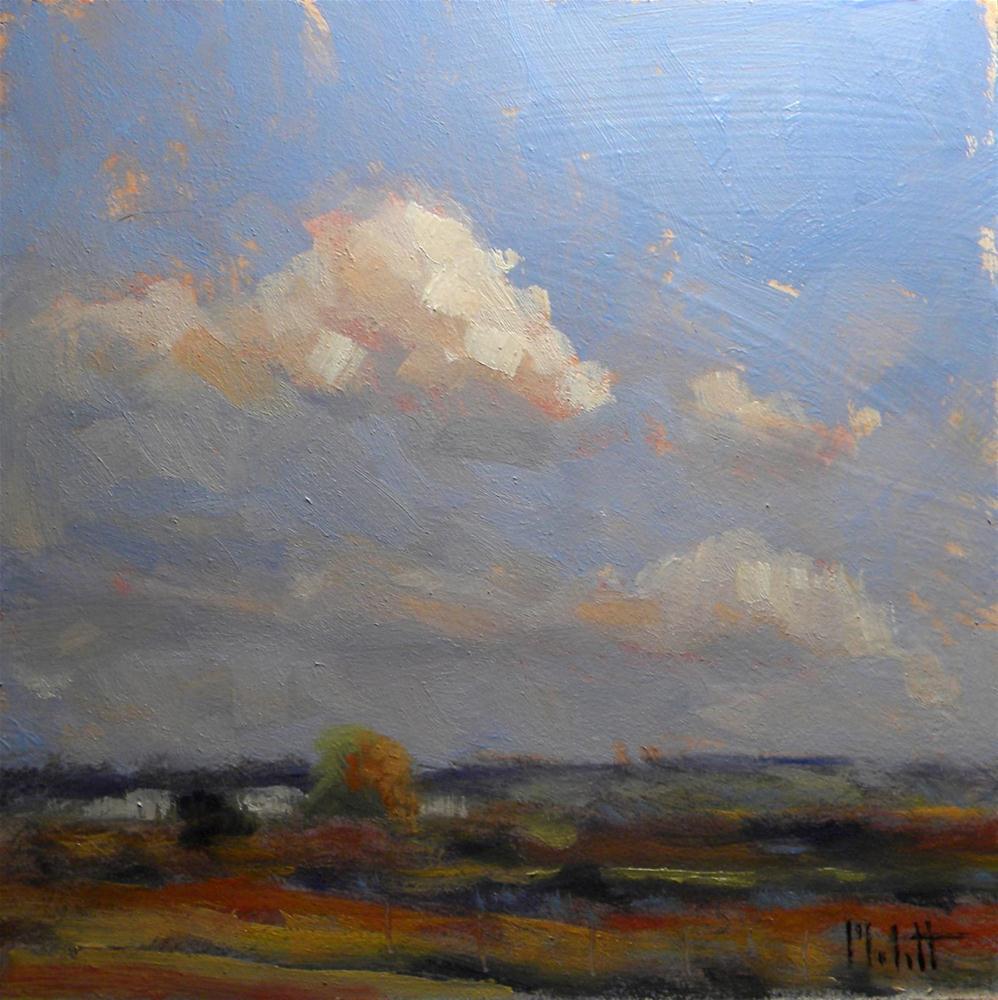 Hawaiian Landscape Pineapple Fields Contemporary Impressionism original fine art by Heidi Malott