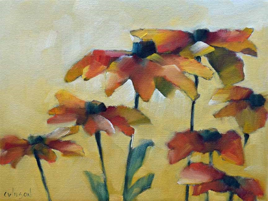 """Susans Bunch 5"" original fine art by Cheryl Wilson"