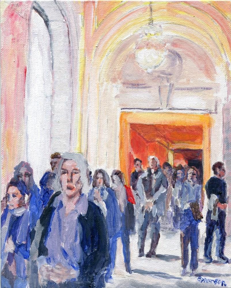 """""""Sanctum"""" original fine art by Stanley Epperson"""