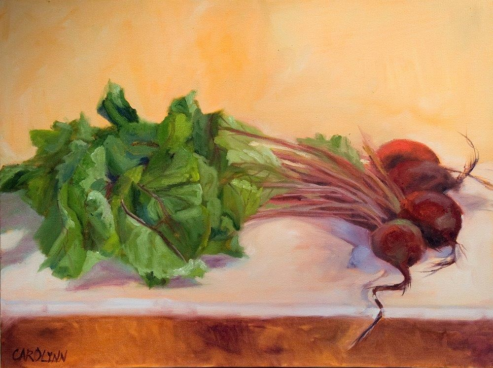 """Yum Beets!"" original fine art by Carolynn Doan"