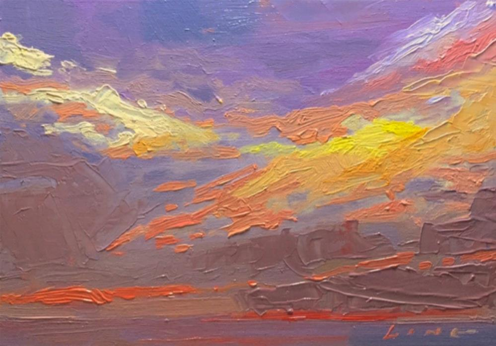 """Lost Horizon II"" original fine art by Chris Long"