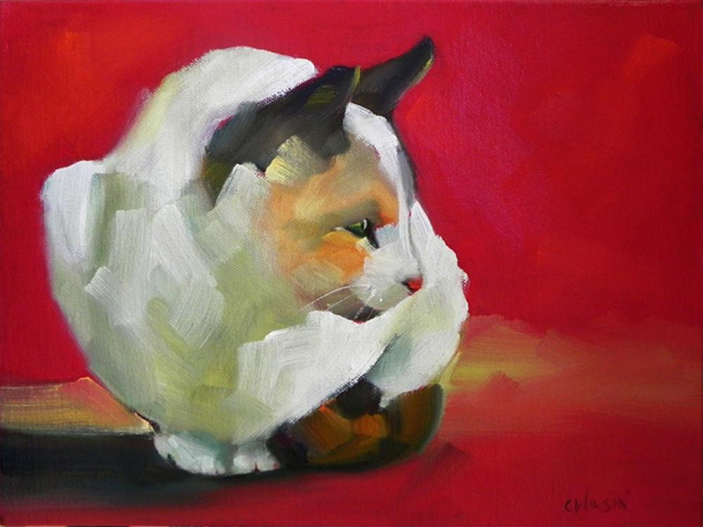 """Mamacita"" original fine art by Cheryl Wilson"