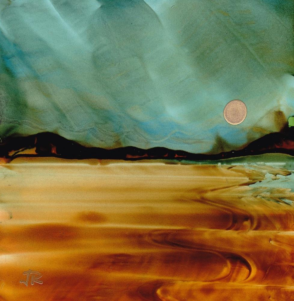 """Dreamscape No. 402"" original fine art by June Rollins"