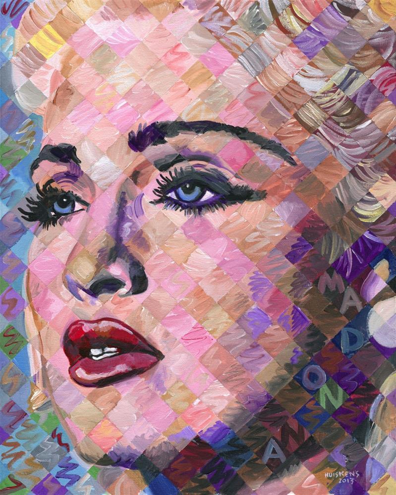 """Madonna"" original fine art by Randal Huiskens"