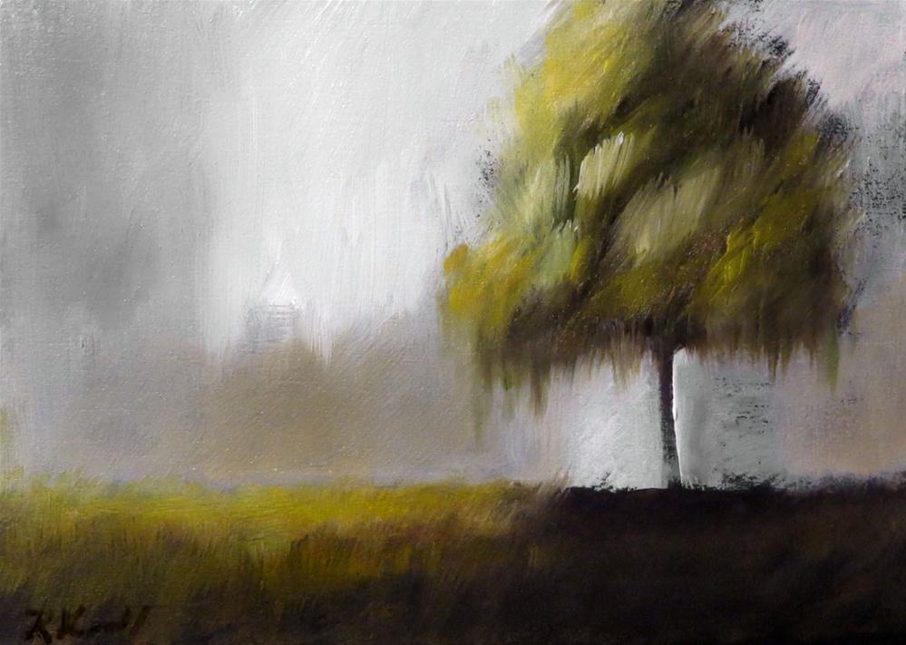 """Meditative Tree"" original fine art by Bob Kimball"
