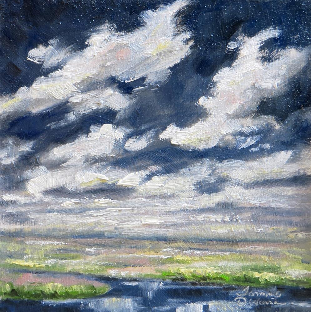 """""""Moody Skies"""" original fine art by Tammie Dickerson"""