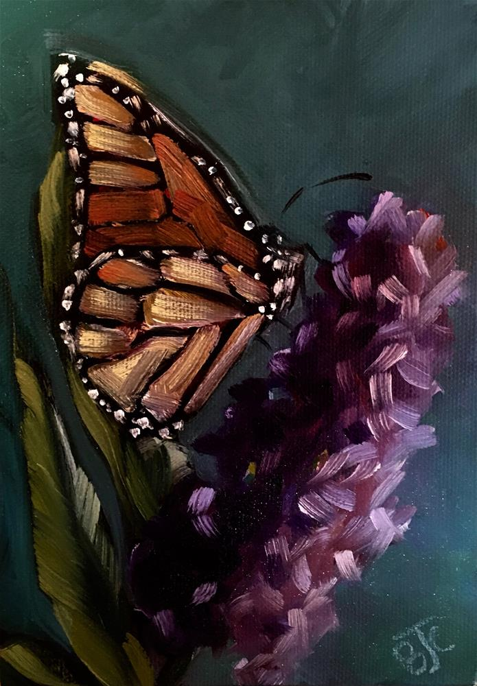 """Butterfly Challenge 1"" original fine art by Bobbie Cook"