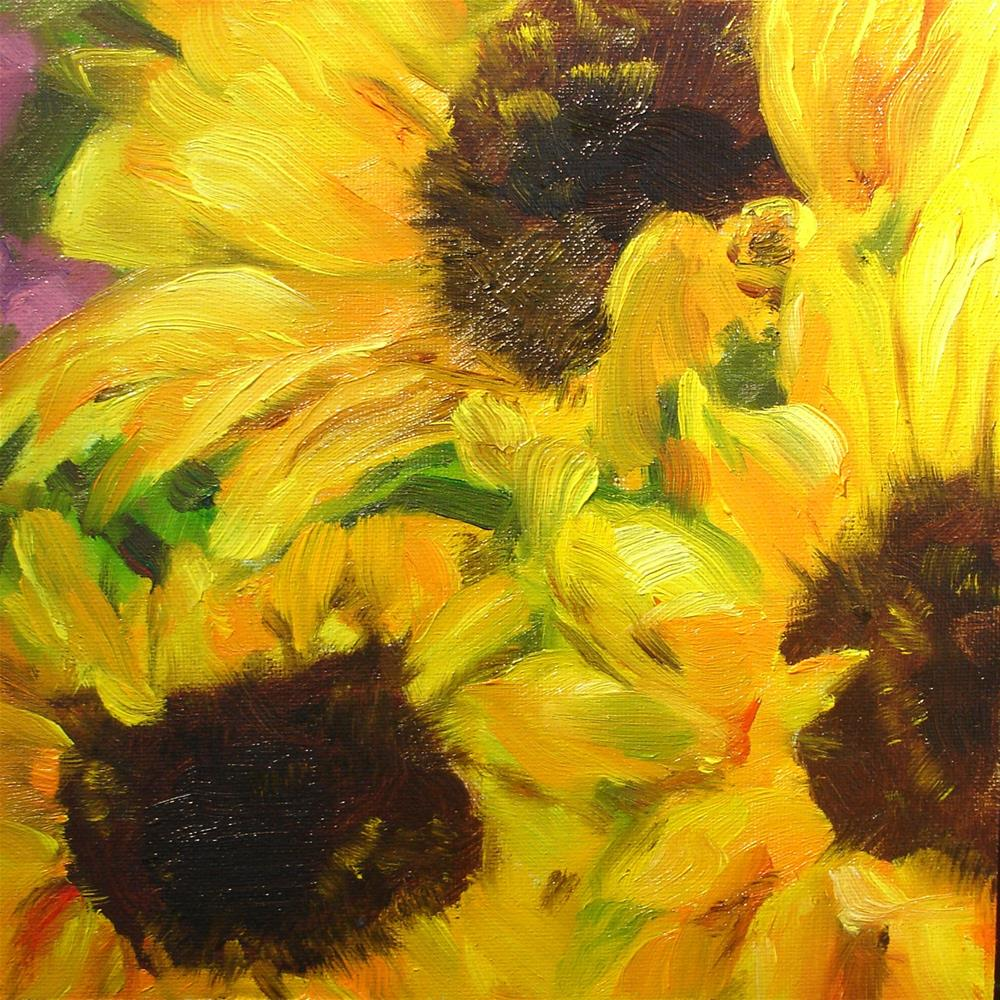 """When the Sun Begins to Shine"" original fine art by Linda Lowery"