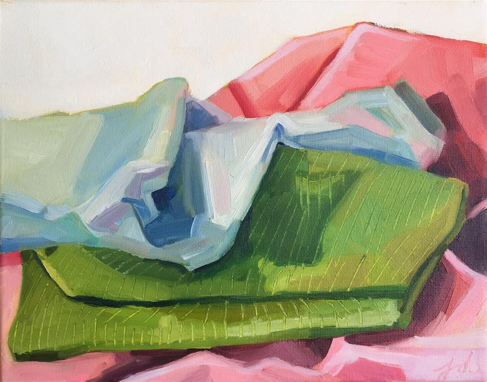 """Blanket Landscape Study"" original fine art by Jessie Dodington"